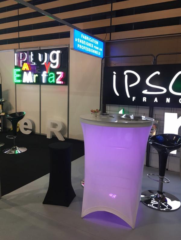 IPSC France, enseigne publicitaires sur Gémenos